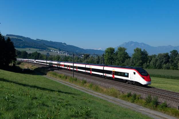Kandidat für den «TEE 2.0»: Der Gotthard-Zug «Smile» von Stadler, den die SBB als «Giruno» bezeichnet.