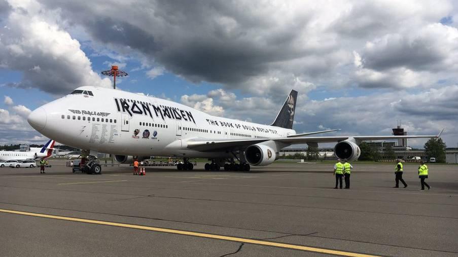 «Iron Maiden» in Zürich gelandet