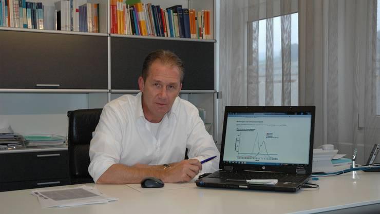 Der Arzt Christopher Meerwein im Sonntagsgespräch mit der Limmattaler Zeitung