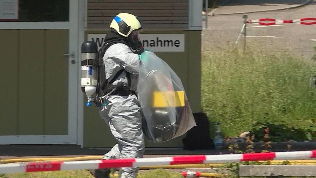 Chemieunfall in Horriwil fordert 11 Verletzte