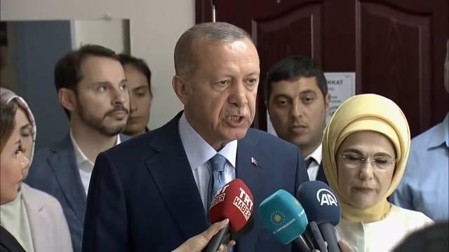 Erdogan bleibt türkischer Präsident