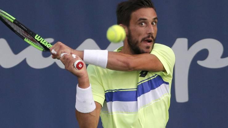 Damir Dzumhur ist der erste Finalist aus Bosnien-Herzegowina bei einem Turnier der ATP-Tour