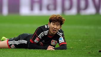 Leverkusen (Heung-Min Son) verliert Spiel und 2. Tabellen-Platz