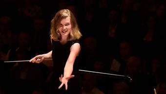 Dirigentin Mirga Gražinytė-Tyla  am Lucerne Festival. Peter Fischli