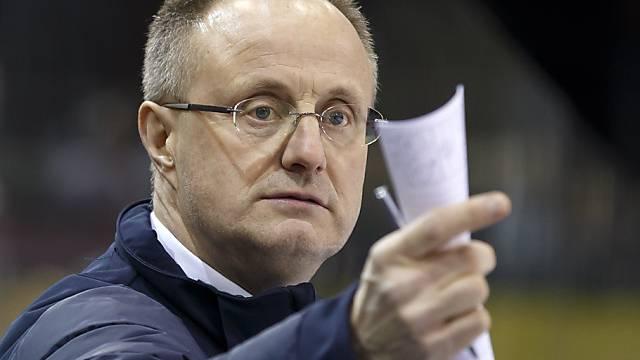 Rappi-Coach Anders Eldebrink erhält für die Playouts fünf Zuzüge