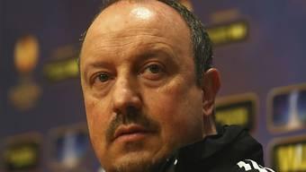 Rafael Benitez wird neuer Trainer von Napoli.
