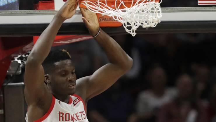 Clint Capela und die Houston Rockets kassieren in Washington die zehnte Saisonniederlage trotz 131 Punkten