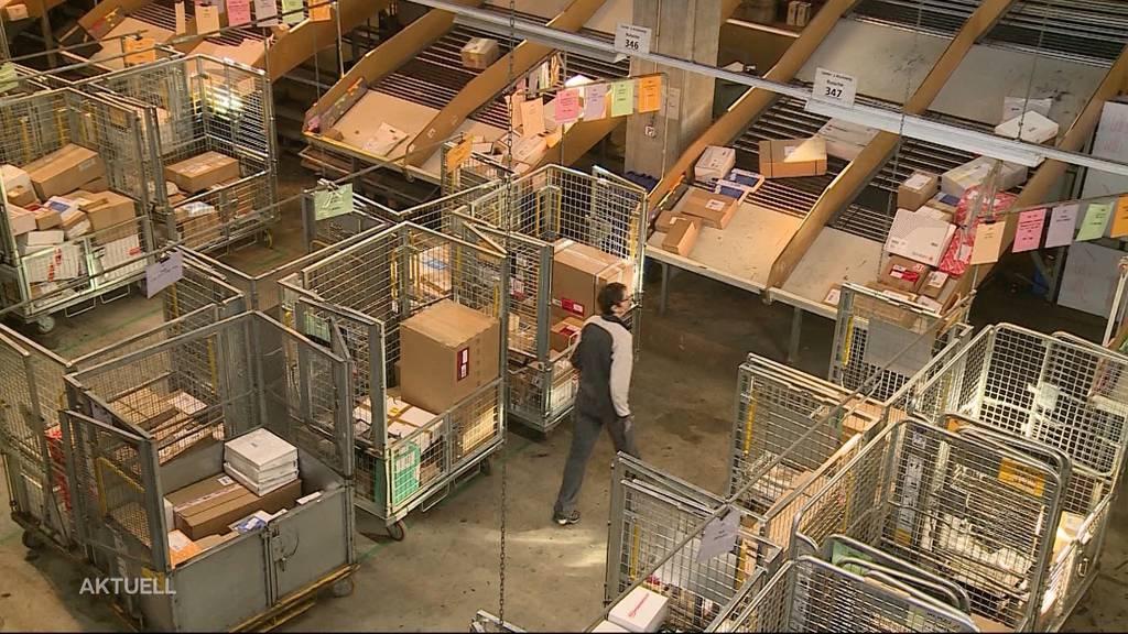 Online-Bestellungen sorgen für Dauerstress im Paketzentrum Härkingen