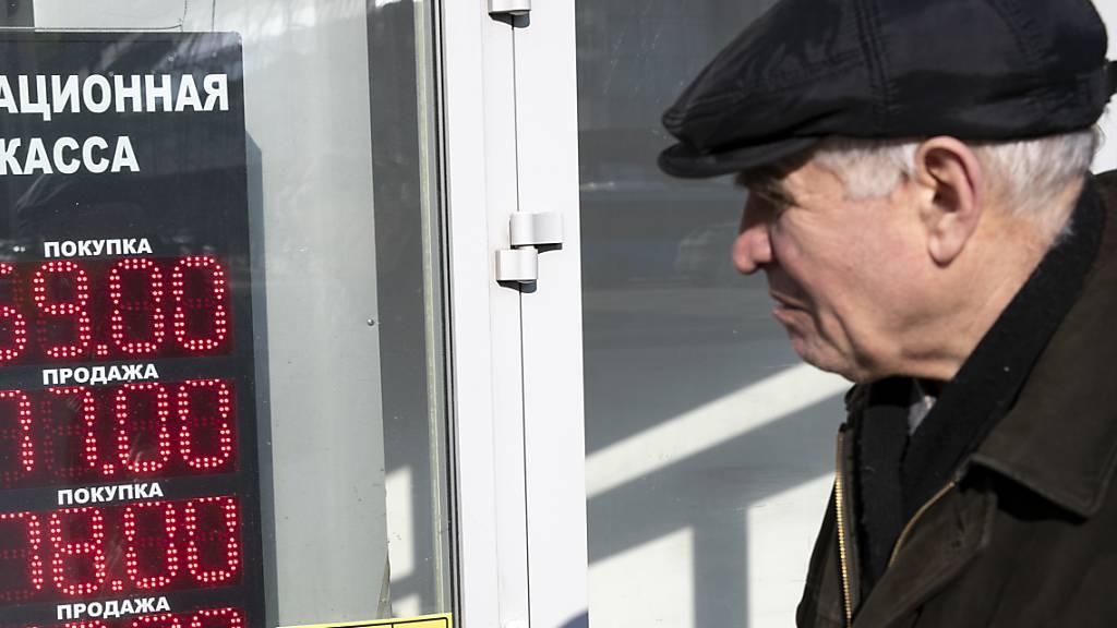 Angst vor Coronavirus: Ausgangssperre für ältere Moskauer