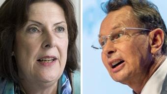 Christine Egerszegi und Philipp Müller, beide FDP, haben das Heu nicht immer auf der selben Bühne.