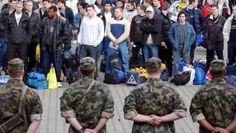 Die Initiative zur Abschaffung der Wehrpflicht will eine Freiwilligenarmee.