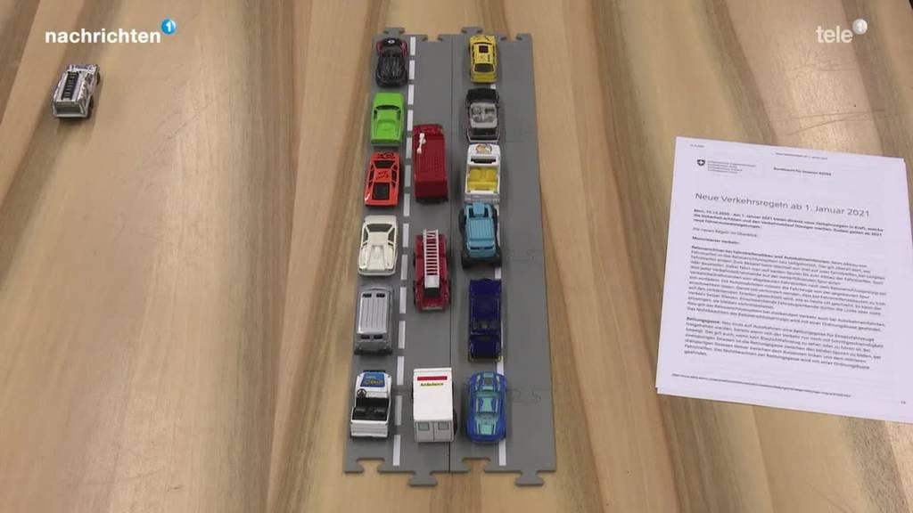Neue Verkehrsregeln ab 2021