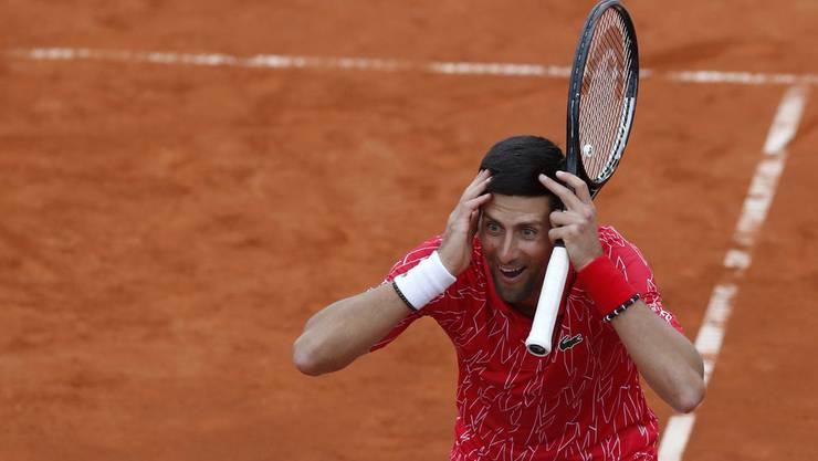 Der beste Tennisspieler der Gegenwart, oft unverstanden: Novak Djokovic.
