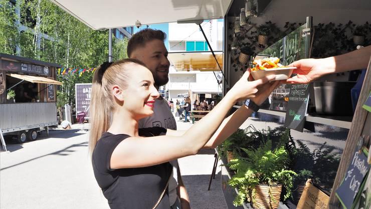 Am Street Food Festival gibt es 50 Food-Stände.