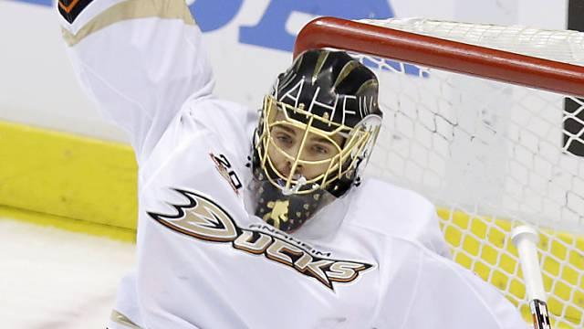 Jonas Hiller wechselt innerhalb der NHL nach Calgary