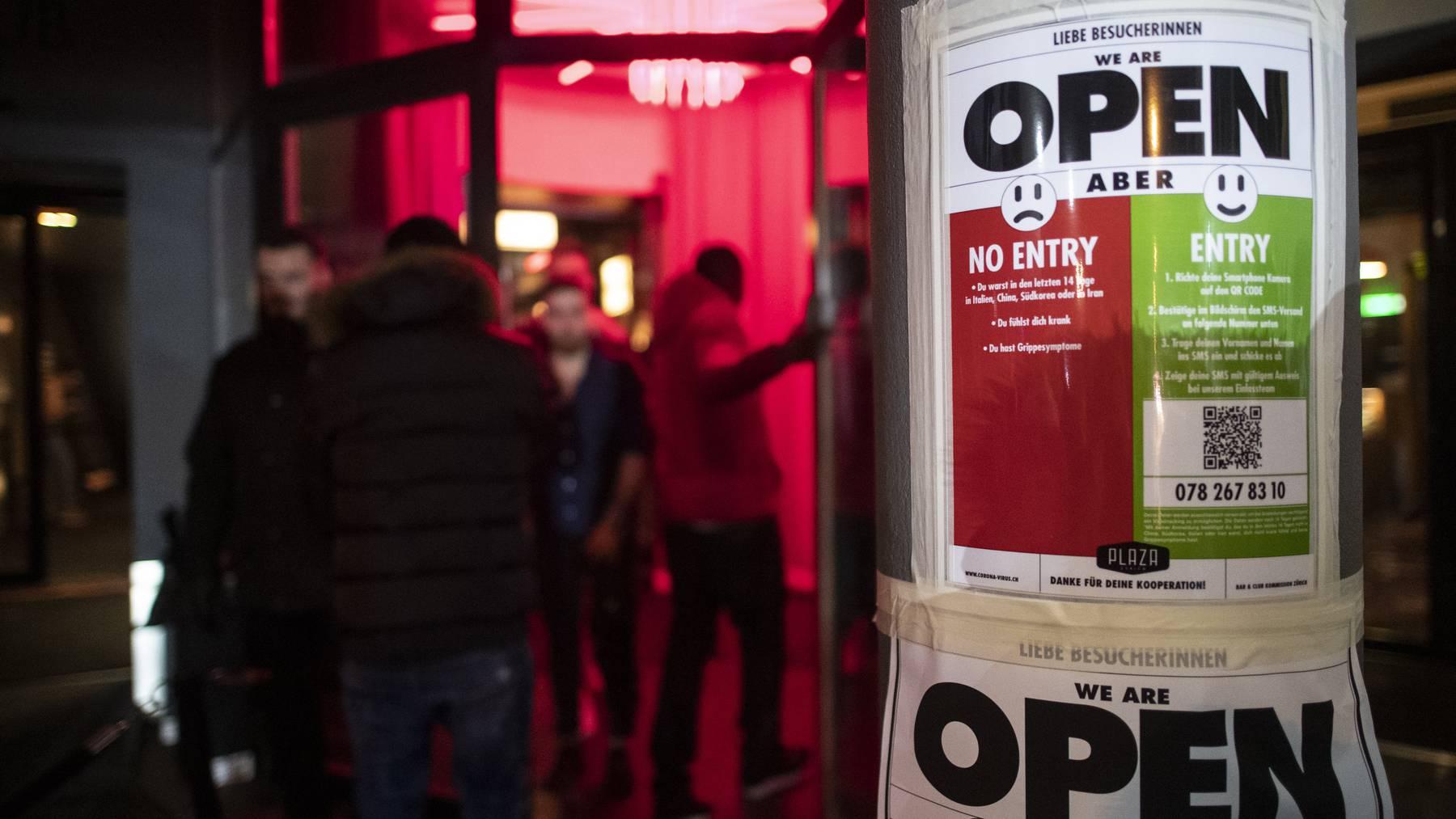 Club sind in der Schweiz trotz Coronavirus geöffnet. Für den belgischen Aussenminister mit ein Grund, Reisen in drei Kantone zu verbieten.