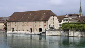 Im Solothurner Landhaus diskutierten ein Bischof, zwei Manager und ein Unternehmer anlässlich des Panelgespräches der Baloise Bank SoBa.