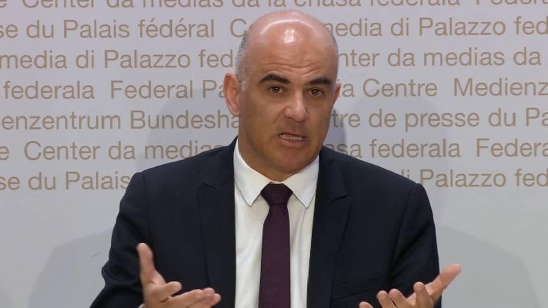 Grossveranstaltungen verboten: die wichtigsten Ausführungen Bundesrat Alain Berset am 28. Februar 2020