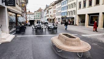 Die SVP will das Velofahren in der Rathausstrasse verbieten.
