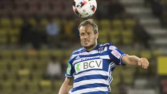 Xavier Margairaz war Lausannes Matchwinner gegen St. Gallen