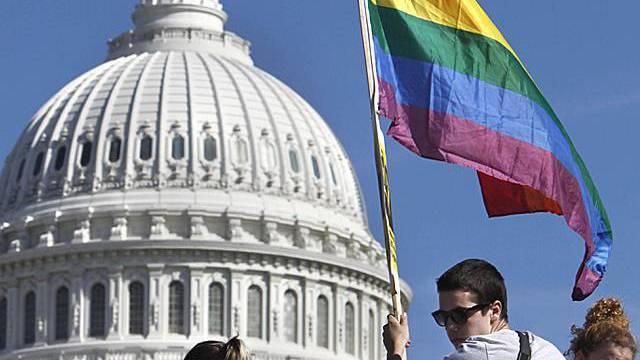 Grossdemo für mehr Homosexuellen-Rechte in Washington