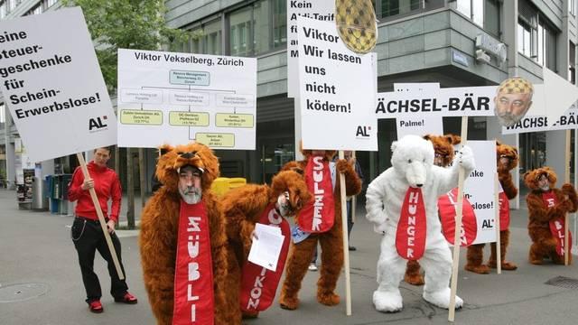Seit Jahren bekämpft die Alternative Linke die Pauschalbesteuerung in der Schweiz (Archiv)