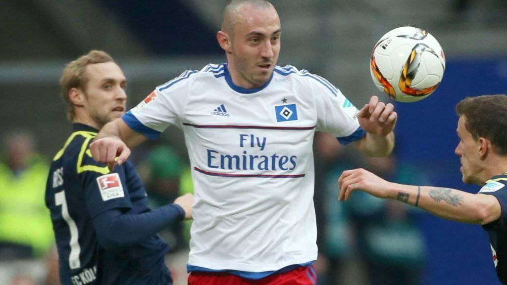Pech für Josip Drmic: Der Schweizer Stürmer fällt mit einer schweren Knieverletzung für die EM in Frankreich aus