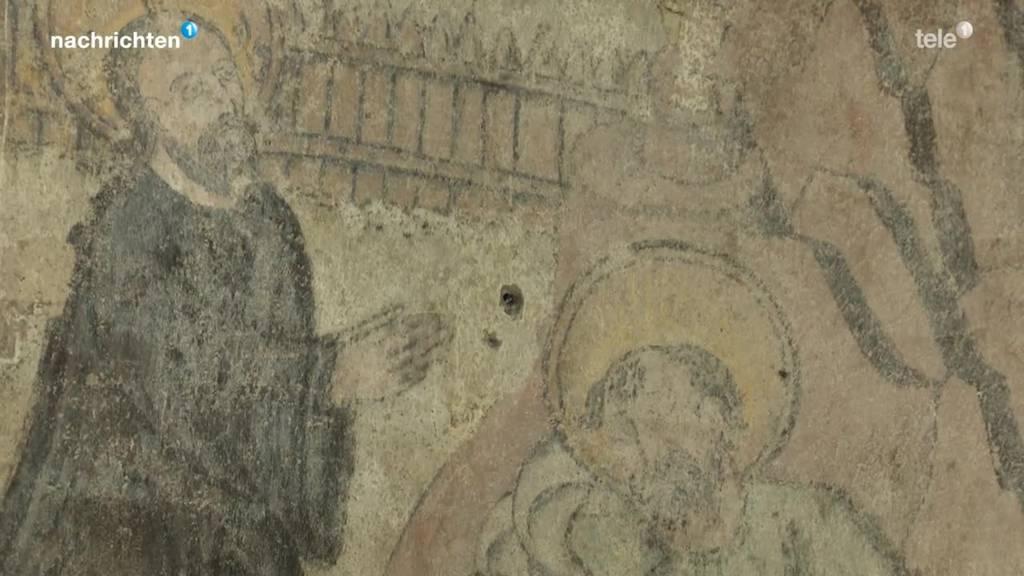 Gemälde aus dem 16 Jahrhundert in Zug entdeckt