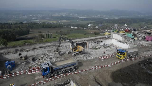 Überblick über das Baugelände.