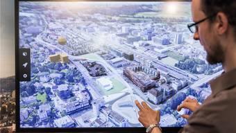 An der Svit-Immobilienmesse im Frühling 2018 war das 3D-Modell der Öffentlichkeit vorgestellt worden.