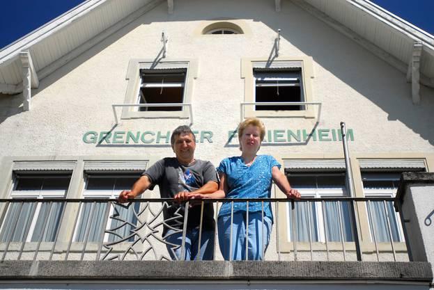 15 Jahre wohnten und arbeiteten Wüthrichs im Ferienheim.