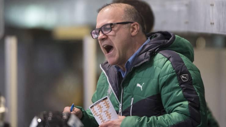 Ist nicht mehr Trainer von Olten: Maurizio Mansi