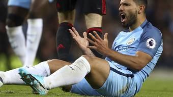 Sergio Agüero vergab die besten Chancen von Manchester City