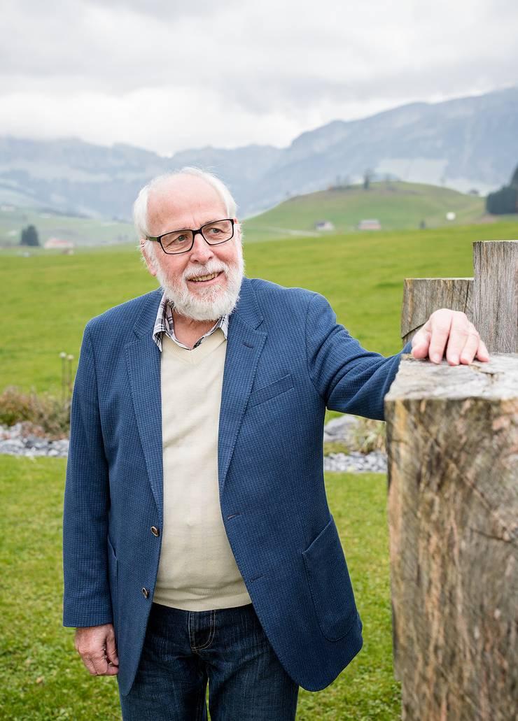 Aussteiger: Stephan Guggebühl, pensionierter Pfarrer.