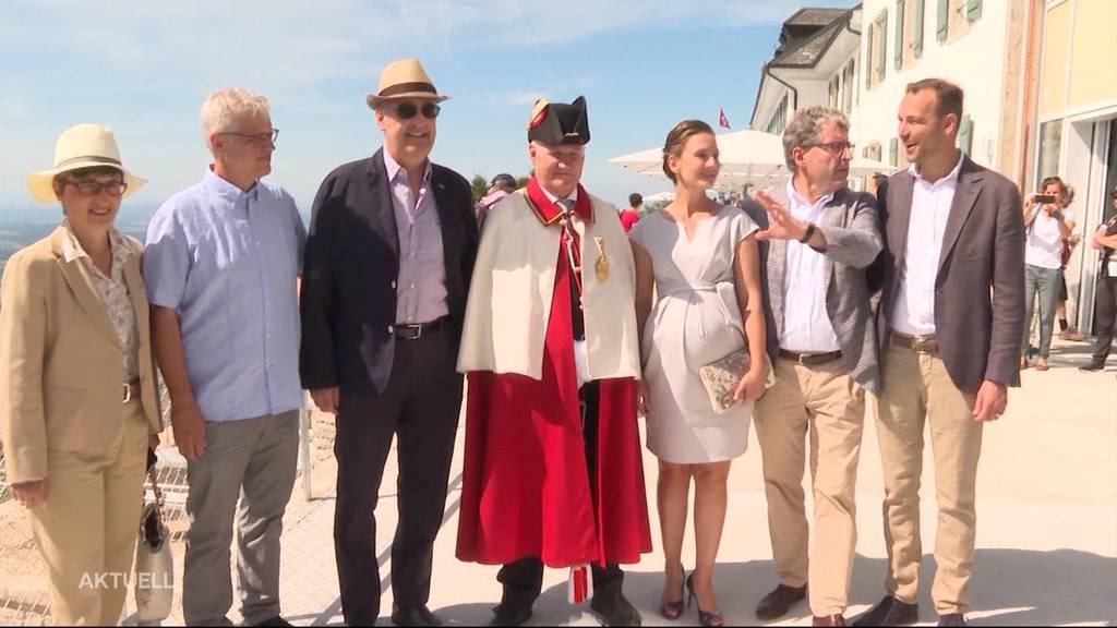 Feierliche Eröffnung des Kurhauses Weissenstein mit Bundesrat Parmelin