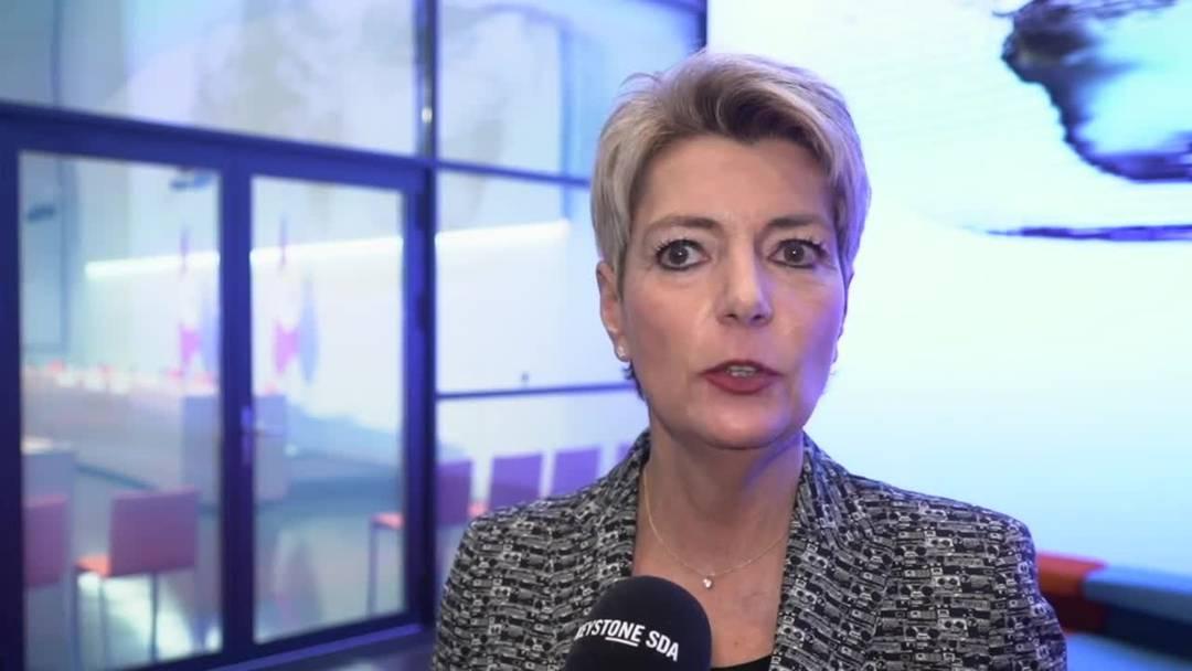 Karin Keller-Sutter sieht wegen Begrenzungsinitiative Wohlstand in Gefahr