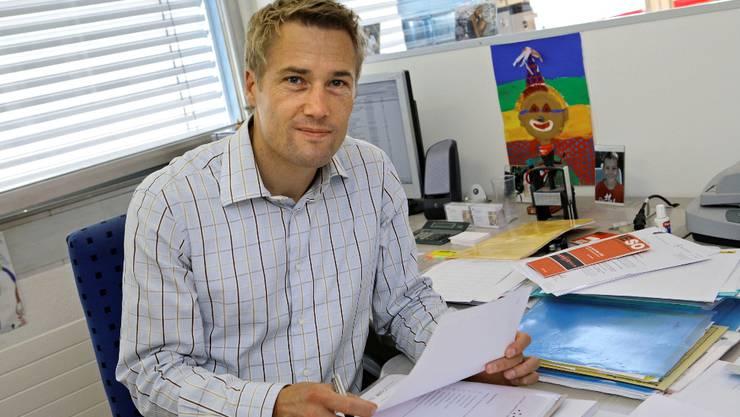 Netzwerk-Leiter Christian Rohr spürte die Konjunktur.