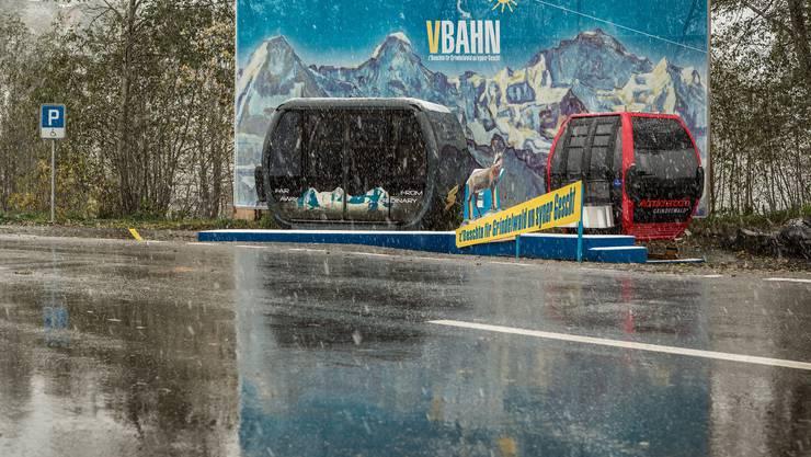 Diese Gondeln sollen Wintersportler und Touristen künftig auf den Männlichen und zur Station Eigergletscher bringen, von wo sie schneller aufs Jungfraujoch kommen.
