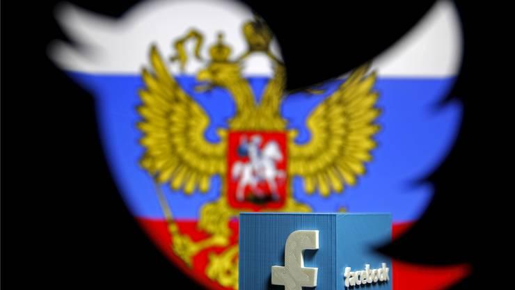 Die sozialen Medien im Fokus: Russische Kreise setzten sie gezielt zur Beeinflussung des US-Wahlkampfes ein. Reuters