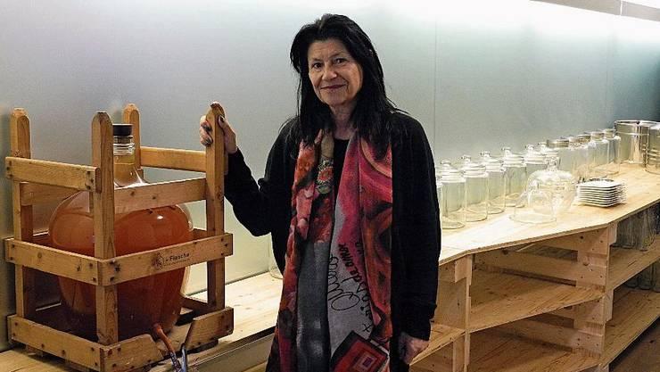 Am 4.Februar eröffnet Brigitta Fend ihren Laden.