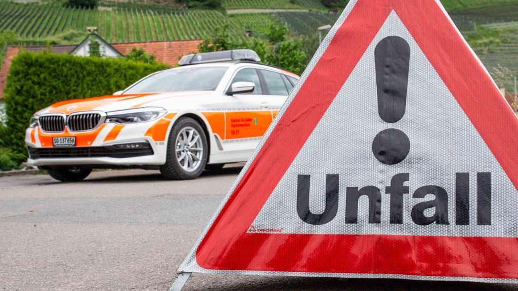 Unfall in Berschis – 78-Jähriger verstorben