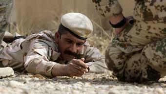 Peschmerga-Kämpfer trainieren im Irak, wie man Sprengfallen entschärft: Die unkonventionellen Sprengsätze fordern weltweit immer mehr Opfer. (Archivbild)