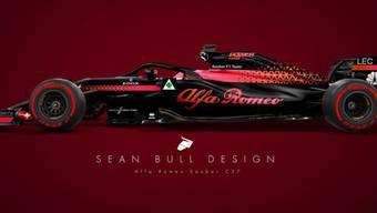 Wie sieht der neue Alfa Romeo Sauber aus?