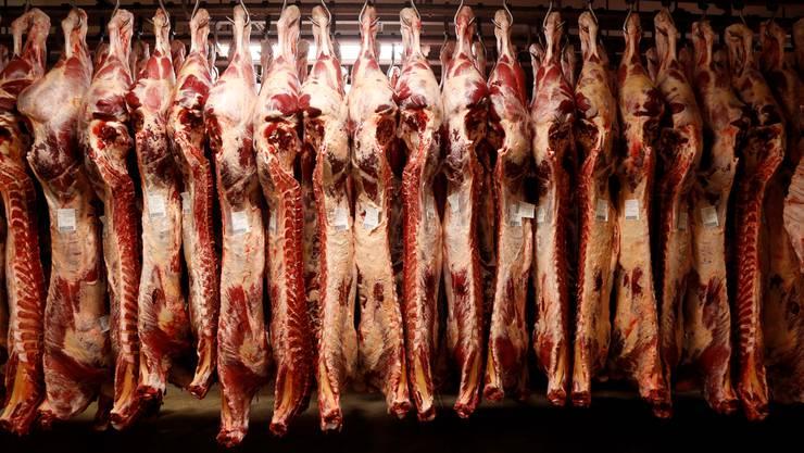 Fleischverarbeitung in der Bell AG in Oensingen