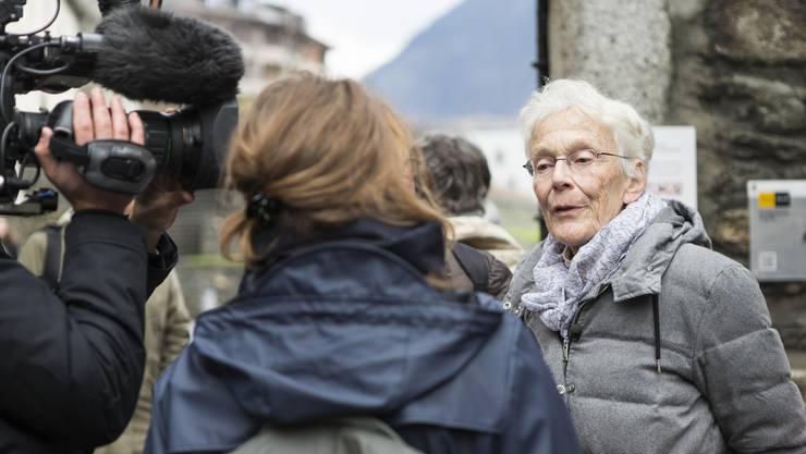 Für ihr soziales Engagement würdigte die Uni Basel Anni Lanz 2005 als Ehrendoktorin.