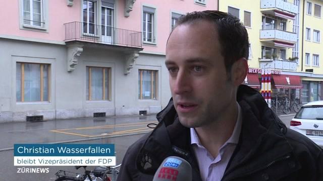 Wasserfallen will nicht in FDP-Präsidium