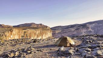 Wild campieren in Oman
