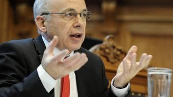 Der zuständige Bundesrat Ueli Maurer