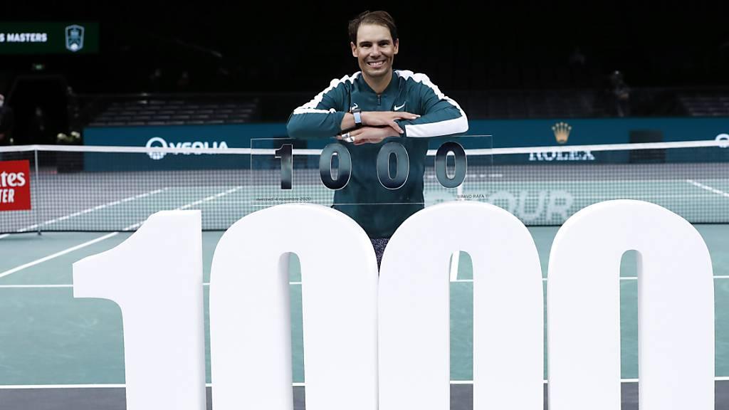 Nadals 1000. Sieg auf der ATP Tour