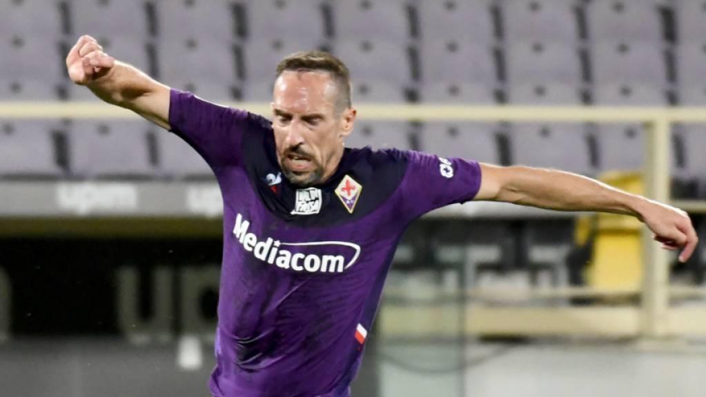 Franck Ribéry macht sich Gedanken über einen Verbleib in Florenz.